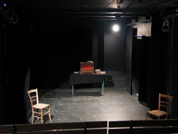 Scène du Théâtre des Sources