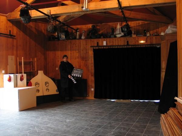 Hall d'accueil du théâtre