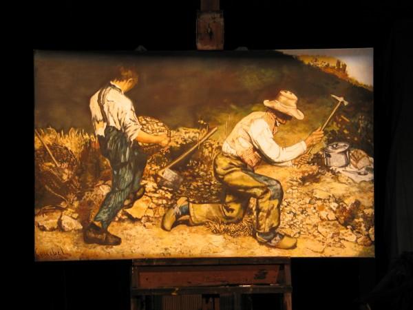 Gustave Courbet, Casseurs de pierre, 1850