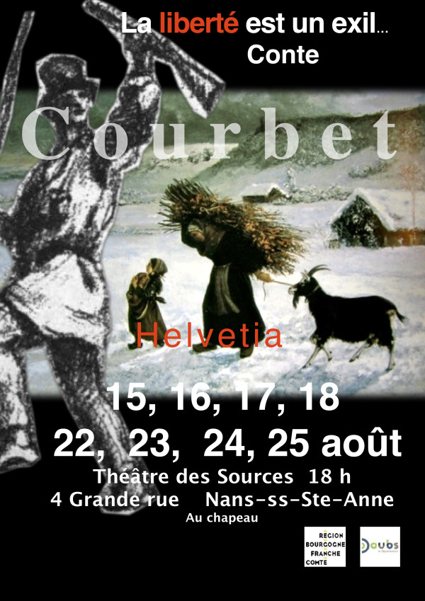 affiche Liberté exil courbet 02 2019